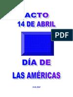 acto 14 de Abril