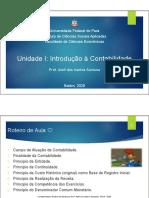Slide Da Aula 01 (Introdução à Contabilidade) - Prof. Aleff Dos Santos Santos