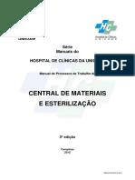 Procedimentos Central de Desinfecção e Esterilização
