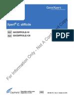 Xpert C.difficile PORTUGUESE Package Insert 300-8023-PT Rev. G
