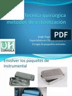 Tecnicas Quirurgicas y Esterilizacion