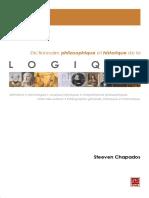 Steeven Chapados Dictionnaire Philosophique Et Historique de La Logique