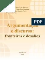 [ORG] PAULO SEGUNDO Argumentação e Discurso - Paulo Roberto Gonçalves Segundo