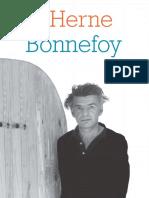 Cahier de L'Herne 93 _ Yves Bonnefoy - Bombarde