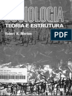 Merton Robert - Estrutura Burocrática e Personalidade