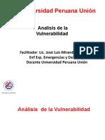 Analisis de La Vulnerabilidad