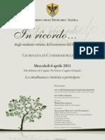 Ateneo Commemorazione 6 aprile