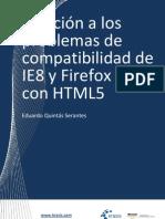 Solución a los problemas de compatibilidad con HTML5 de IE8 y Firefox 3