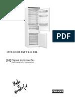 UM001_Franke_Refrigerator_Mythos_FCB 320 NR ENF V A++ BRA#PT#BR#118.0581.746#A4#P#v01