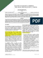 Invastigación Cualitativa. Evaluacion metodológica, Ana Cecilia Salgado