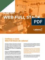 Apresentação Web full Stack - Integral