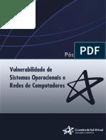 02-2021 Vulnerabilidade de Sistemas Operacionais e Rede de Computadores Unidade IV