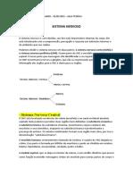 SISTEMAS DO CORPO HUMANO 17-05-2021