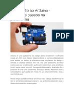 1 - Introdução ao Arduino