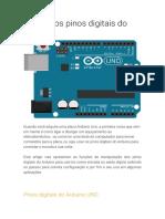 2 - Usando os pinos digitais do Arduino