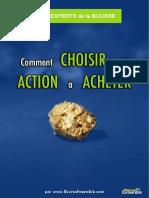 Bourse Ensemble - Choisir une Action