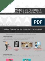 Tema 5 Procesamiento de pedidos y sistemas de información