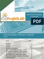 Manual ProjSOLAR v5.0