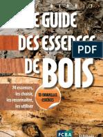 Le guide des essences de bois