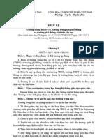 Điều lệ trường TrH (bản chính thức)