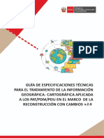 Anexo 01 - Guía de Especificaciones Técnicas para el tratamiento de la información geográfica-cartográfica