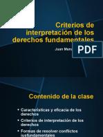 6. Criterios de interpretación de los derechos fundamentales S6-2021