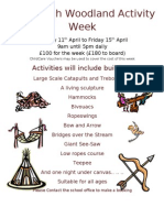 Woodleigh Woodland Activity Week