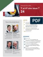 FORWARD, le magazine de la FEB, avril 2011, le sommaire