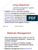 Market Logistics and Supply chain