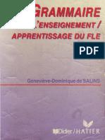 GrammairePourEnseignement-ApprentissageDuFLE