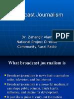 Broadcast Journalism Pdf
