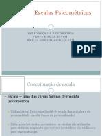 TIPOS DE ESCALAS PSICOMÉTRICAS