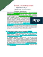 TEMARIO DE PLURALISMO JURÍDICO