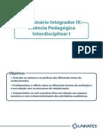 Seminario Ix Vivencia Pedagogica Interdisciplinar i