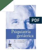Psiquiatría Geriátrica 3.ª Edición - Luis Fernando Agüera Ortiz