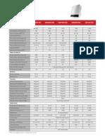 Datasheet Inversor Goodwe Ms 5000w