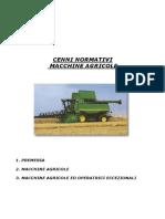 Macchine agricole - cenni normativi