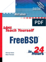Teach Yourself FreeBSD In 24 Hours (2003)