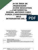 2012 Plan Área Humanidades.doc