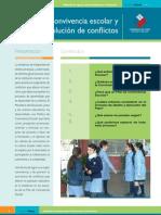 convivencia escolar y resolucion de conflictos