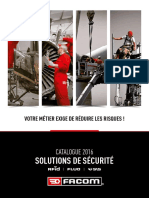 Catalogue FACOM Solutions de Sécurite 2016 FR 1