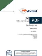 Docmail Hybrid Mail API v2 Guide 30/03/2011