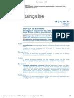 DTU 20.1 P3 Travaux de batiment - ouvrages en maçonnerie de petits éléments - juillet 2020