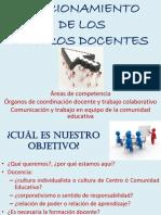 Funcionamiento de los centros docentes de Secundaria