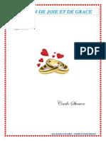 Pamphlet Laetitia & steeven