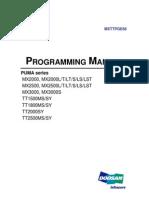 CNC Turning Center Programming Manual