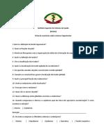 Ficha de exercícios
