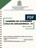 Caderno 1- Ativ. Ciclo Infância - Es