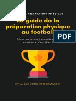 Le guide de la préparation physique au football