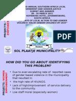 Women Empowerement_sol Plaatje Municipality_27032011